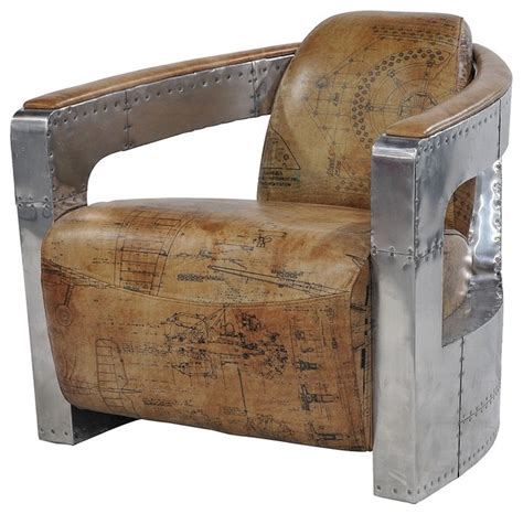 Aviator Armchair by Aviator Club Chair Spitfire Arms