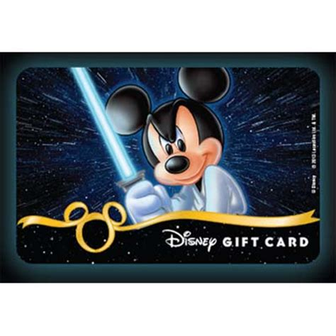 Star Wars Gift Cards - your wdw store disney collectible gift card star wars 2013 jedi skywalker mickey