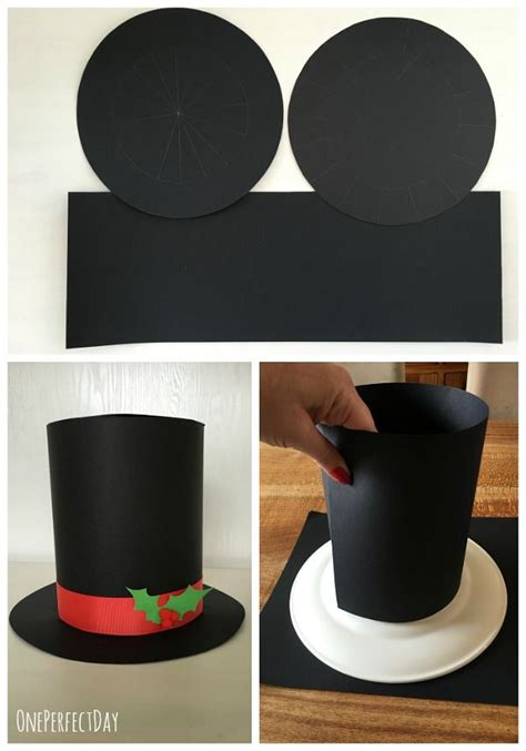 How To Make A Snowman Hat Out Of Construction Paper - 25 best ideas about snowman costume on