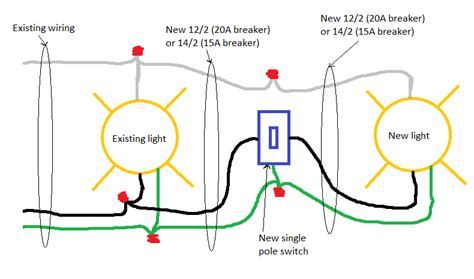 wiring diagram for adding a light to switch free