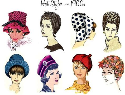 1960s hairstyles history hat week a brief history of hats 1960s by