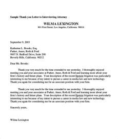 sle thank you letter 10 exles in word pdf