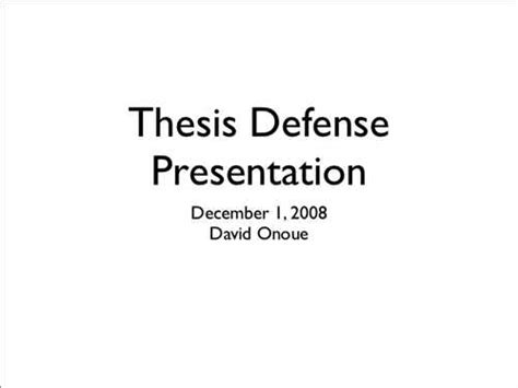 Step 8 Thesis Defense Presentation Thesis Defense Powerpoint Template