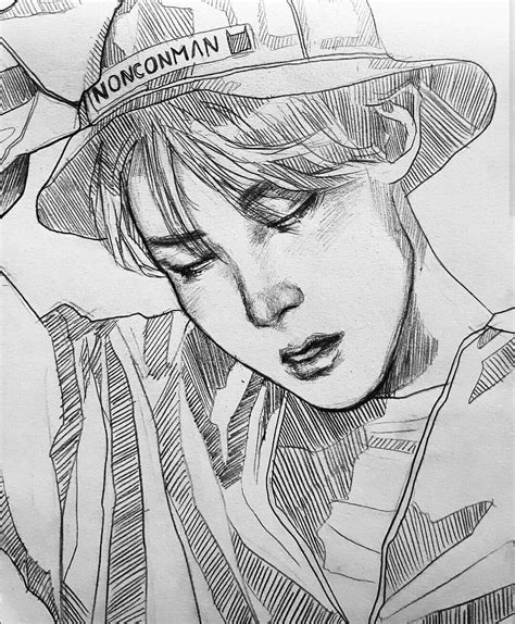 Jhope Drawing Easy by And The Award For Quot The Best J Fanart Quot Goes Tooooo