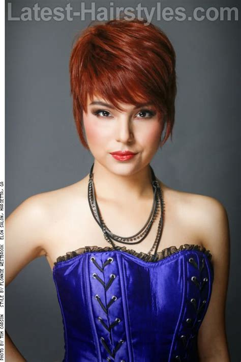 ruffled pixie hairstyle 22 best beautiful country ruffled curtains images on