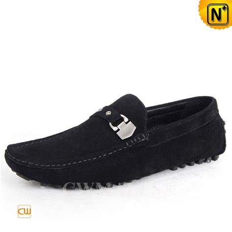 driver loafers cwmalls 174 suede leather driving loafers cw707113