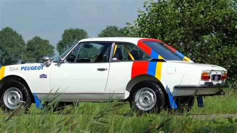 peugeot cars please 1976 peugeot 504 coupe rally car youtube