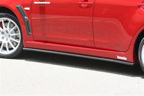 chargespeed bottom line type 1 carbon side skirts