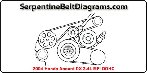 serpentine belt  impala diagram