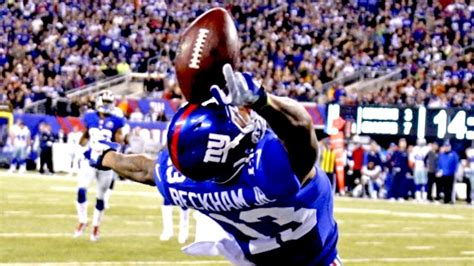 the science of odell beckham jrs incredible onehanded td catch 2014 odell beckham jr wants to become ambidextrous total pro