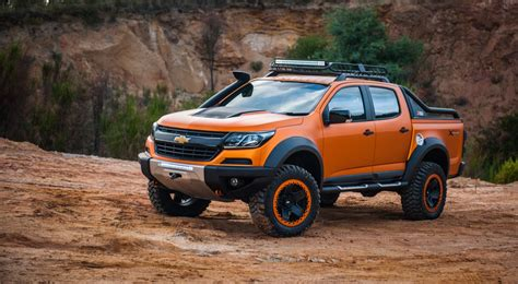 chevy vehicles 2016 chevrolet colorado xtreme concept revealed gm authority
