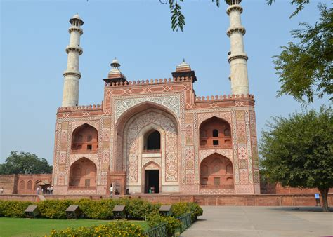 Basement Entrances by Akbar Tomb Historical Facts And Pictures The History Hub