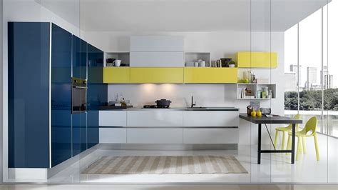 casa cucine pareti attrezzate con camino