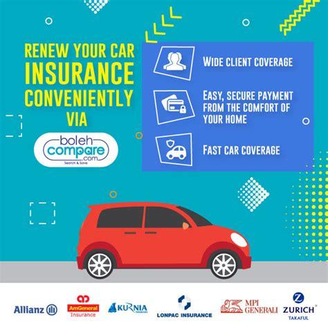 Car Insurance Renewal by Bolehcompare Renew Car Insurance With Bolehcompare