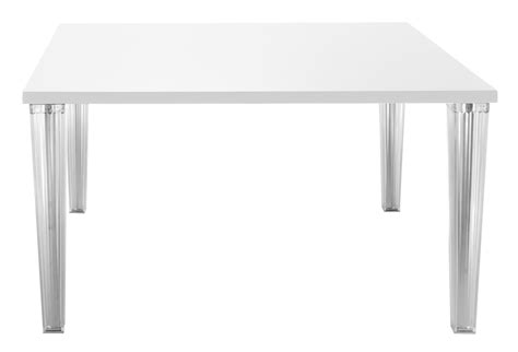 white table top top top table 130 cm lacquered table top white by kartell