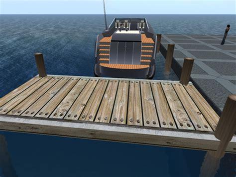 boat dock planks second life marketplace nautical wood boat dock plank