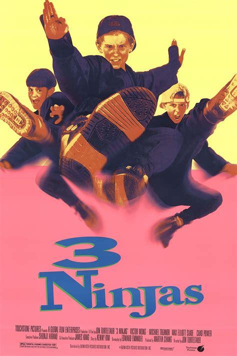 film ninja gratis 3 ninjas 1992 original movie poster fff 45672