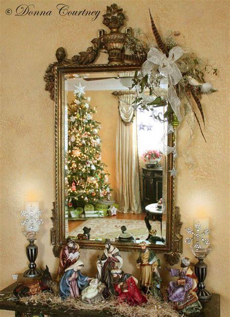 decorated house christmas nativity christmas