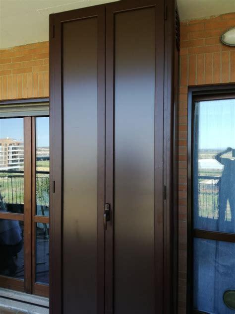 armadi in alluminio per balconi armadi in alluminio per esterni eurotendesud 2000 srl