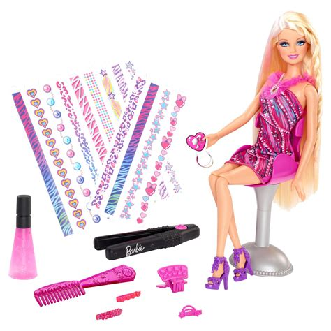 barbie tattoo design games hair tattoos doll 163 20 00 hamleys for toys and