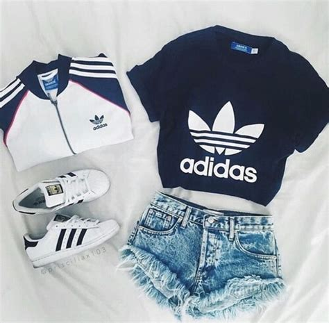 adidas clothes adidas clothes fashion look image 4320399 by marine21 on favim