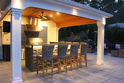 pool houses with bars custom carpentry cabanas pool houses long island