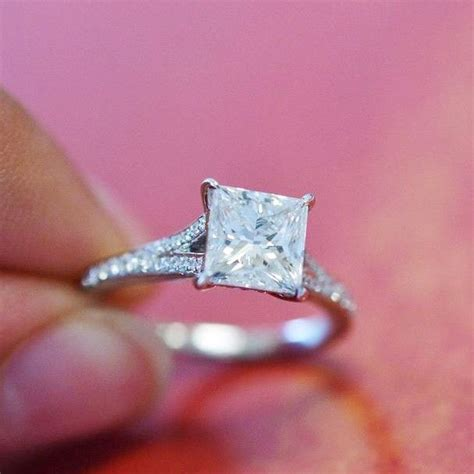 best 20 square engagement rings ideas on