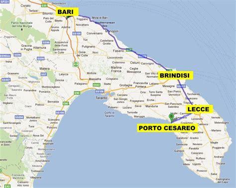 mappa porto cesareo porto cesareo puglia cartina flyoverblues