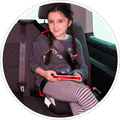 rental car booster seat child s booster seat by bubblebum uk