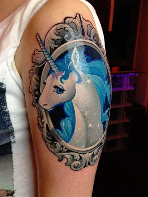53 best unicorn tattoo designs for women tattooblend