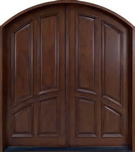 front door custom solid wood with custom finish