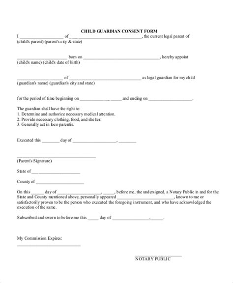 authorization letter for minor child authorization letter this child custody best free