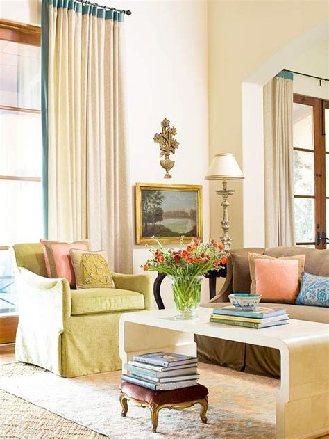 neutral color living room 2013 neutral living room decorating ideas from bhg home