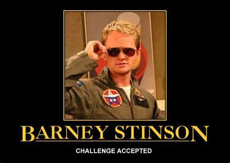 Barney Stinson Meme - a challenge i accept machiine