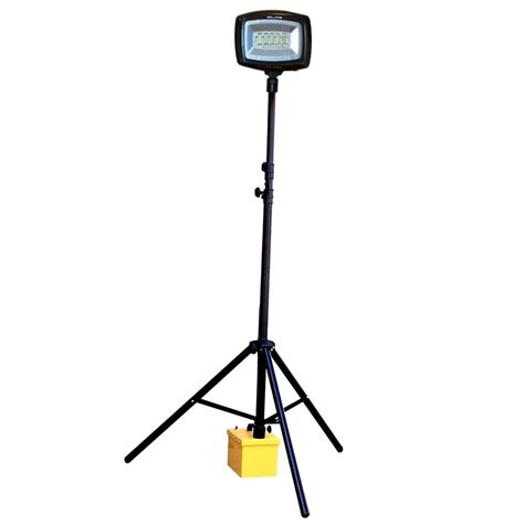 Outdoor Temporary Lighting Nightsearcher Megastar Led Portable Rechargeable Floodlight 16k Nssolarismega16k 24