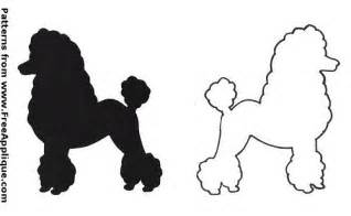 poodle template printable flickr photo