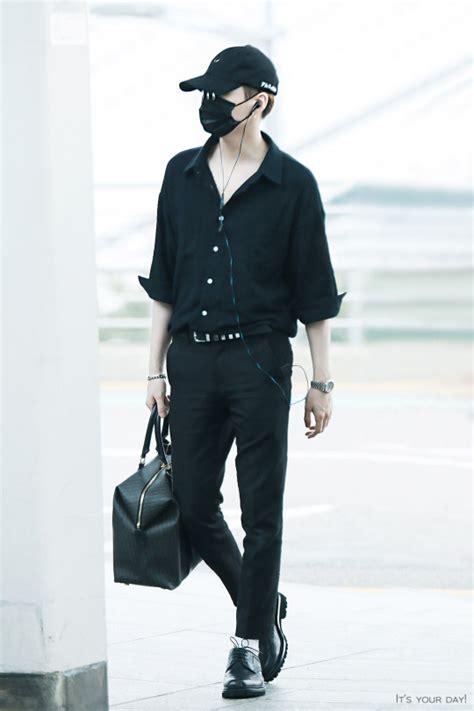 Fashion Min Min airport 160902 bts suga min yoongi bts bangtan bangtanboys fashion bts