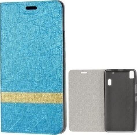 Smart Cover Lenovo A7000 Gold oem ultra slim 0 3mm book wallet