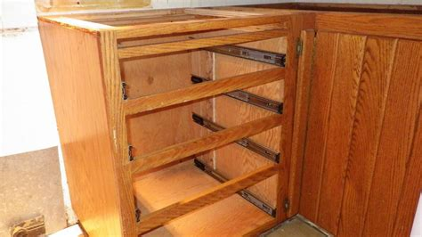 kitchen cabinet shelf slides home projects windy weather