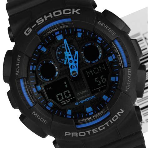 Jamtangan G Shock Ga 100 1a2 ga 100 1a2 casio g shock velocity indicator ga100