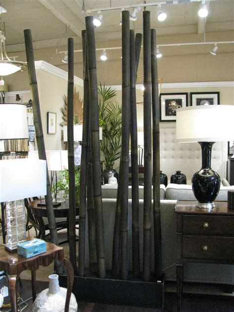 bamboo pole room divider home furnishings made of materials