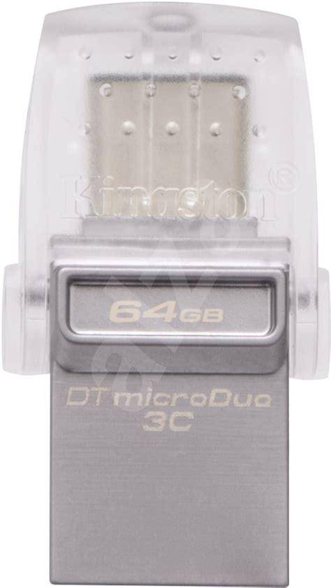 Fd Kingston Datatraveler Microduo 3c Type C Usb 3 1 Dtduo3c 32gb kingston datatraveler microduo 3c 64gb flash disk alza sk
