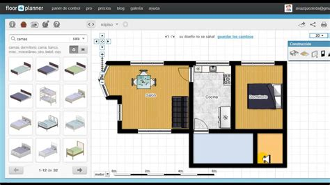 Home Office Layout Planner tutorial de floorplanner en espa 241 ol youtube