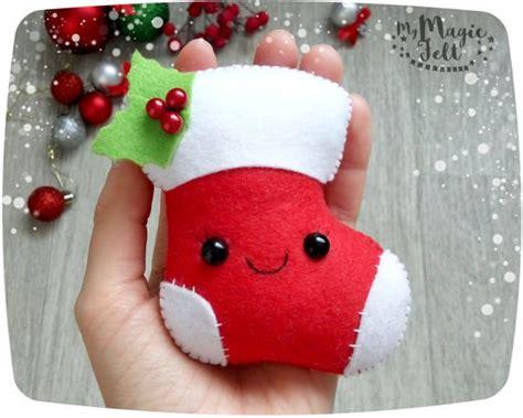 imagenes navidad en fieltro moldes patrones cana arbol calcetin regalo