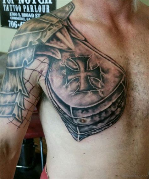 armor tattoo 55 great armor tattoos for chest