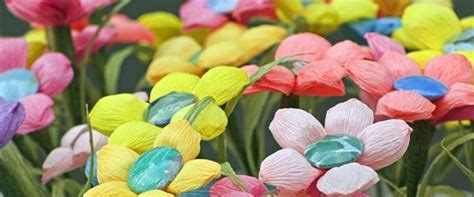 How To Make Mexican Paper Flowers - mexican crepe paper flowers paper flowers