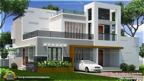 small villa design contemporary double storied small villa kerala home