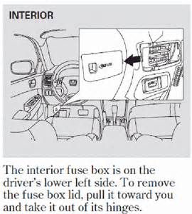 2003 Honda Accord Fuse Box Is A Diagram Of A 2003 Honda Accord Fuse Panel Available