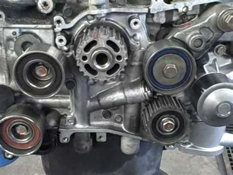 subaru owner tips: timing belt idlers youtube