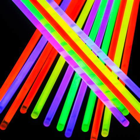 Glow Stick Light Up Bracelet Necklace 8in 9 Colors Premium Light Sticks